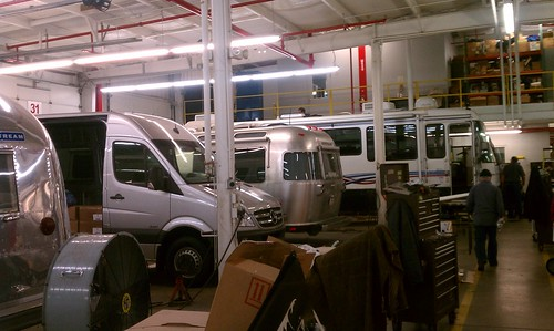 Day 77: Getting our Airstream back from service.