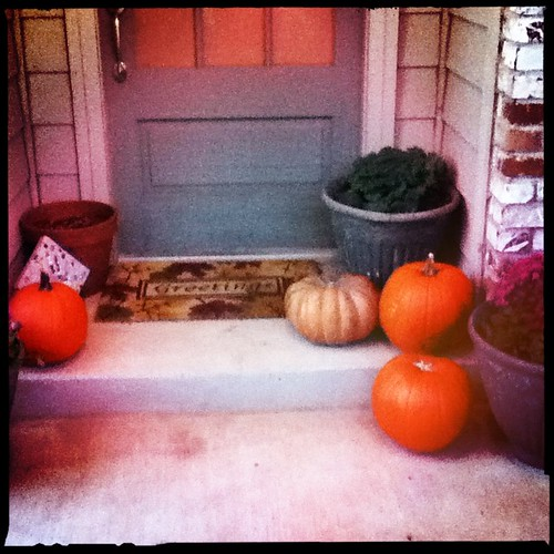#pumpkins on the porch #tulsa