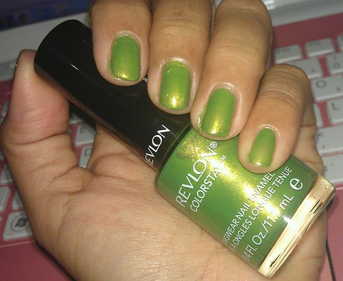 Revlon ColorStay Longwear Nail Enamel 230 Bonsai swatches