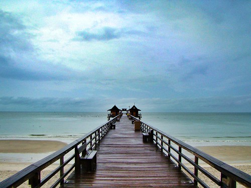 beach nature coast pier fisherman florida cloudy naples hdr snapseed