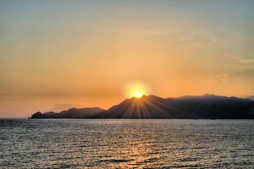 ocean clouds sunrise bowl east ridge timor dihli