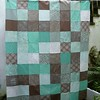 Blitzen quilt top...  12 FQ giveaway from @brightonsewing on my blog