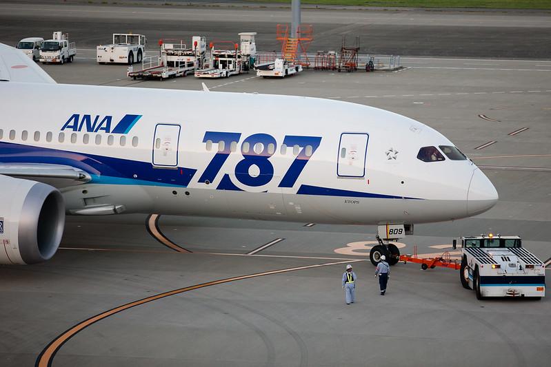 Boeing787(HANEDA,TOKYO)
