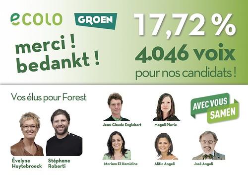 Vos élus pour Forest