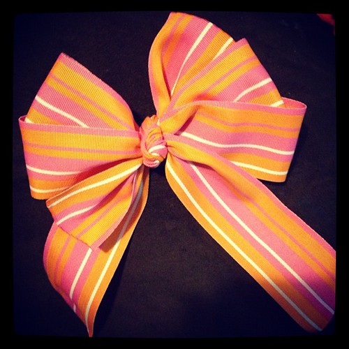 Handmade girly #bow number two. :-)