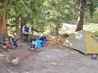Chicago Basin Base Camp