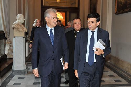 Con Mario Monti