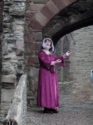 Reenactment at Ludlow Castle
