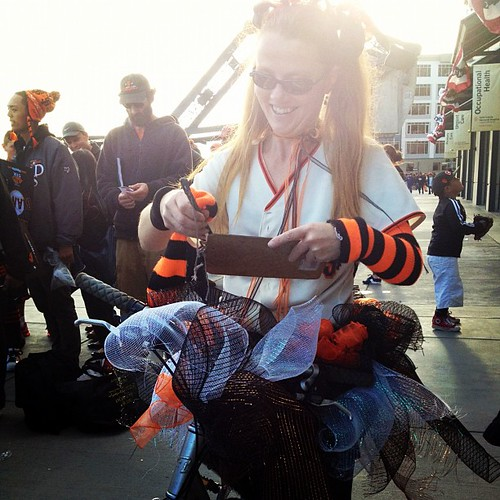 Tutu @sfbike parking #giants #worldseries