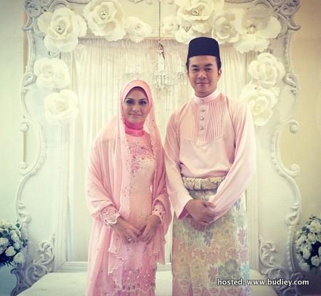 Majlis Pertunangan Pereka Fesyen Ezuwan Ismail