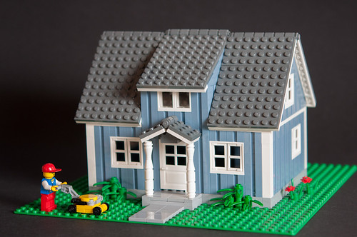 Swedish sand blue villa 2