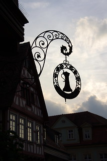 Evening silhouettes (Schwäbisch Hall, Germany)