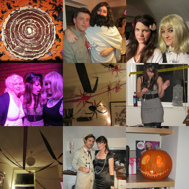 dead celebrity halloween party, pumpkin, cheesecake, amy winhouse, audrey hepburn