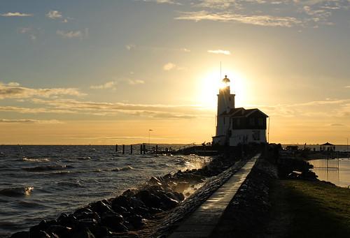 lighthouse netherlands sunrise nederland vuurtoren marken ijsselmeer zonsopgang mygearandme mygearandmepremium mygearandmebronze mygearandmesilver mygearandmegold xdcfotowalk