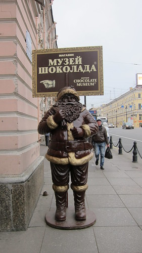 Chocolate Father Christmas