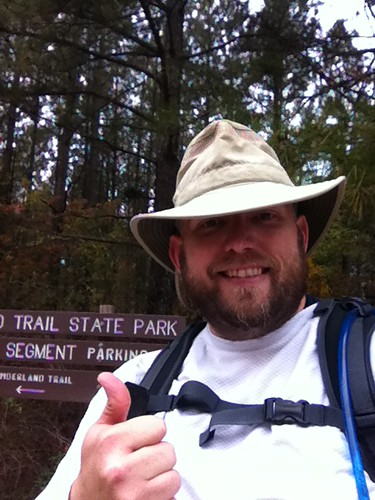 Mike at Upper Leggett Trailhead