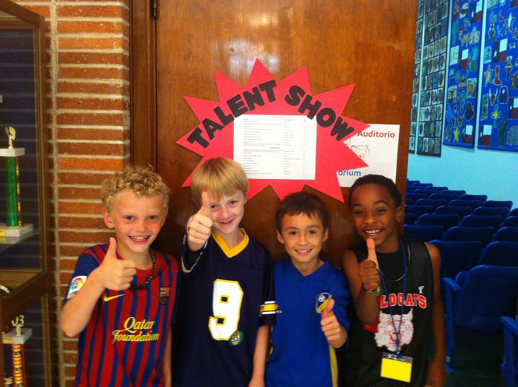 *Penn and his friends make the talent show cut!