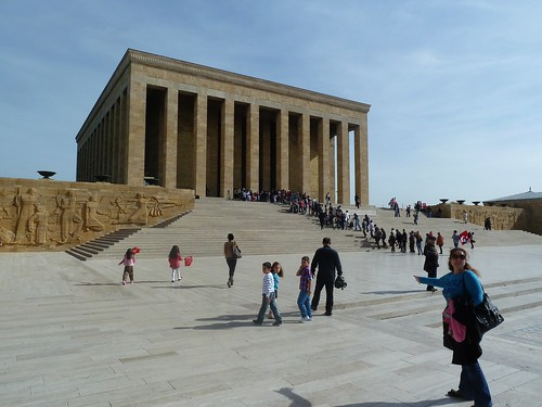 The mausoleum at Anitkabir