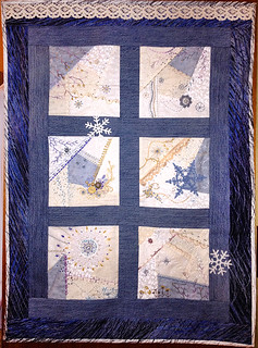 Last Winter Day crazy quilt