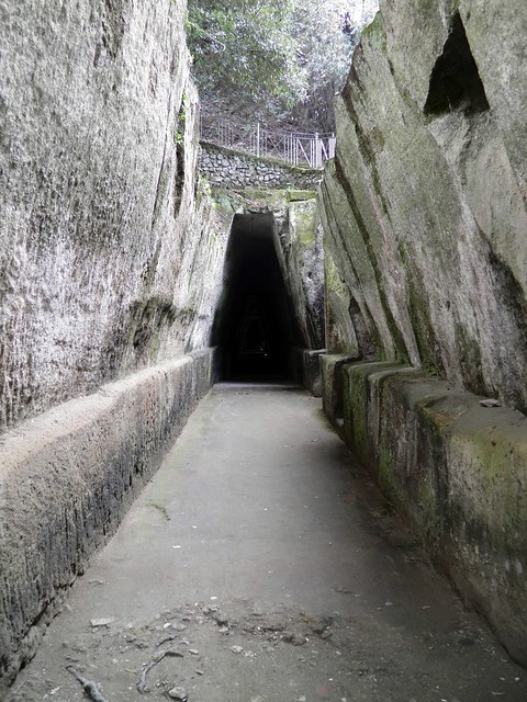 Entrance to the Cave of the Sibyl, Cumae