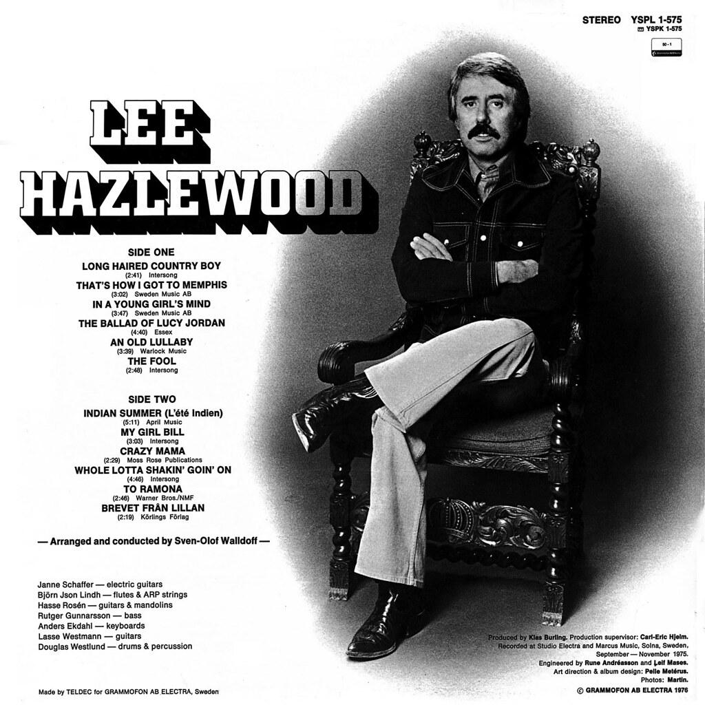 Lee Hazlewood Lp Cover Art