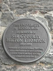 Photo of Godfrey Thomson grey plaque