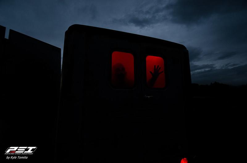 PSI Halloween Van