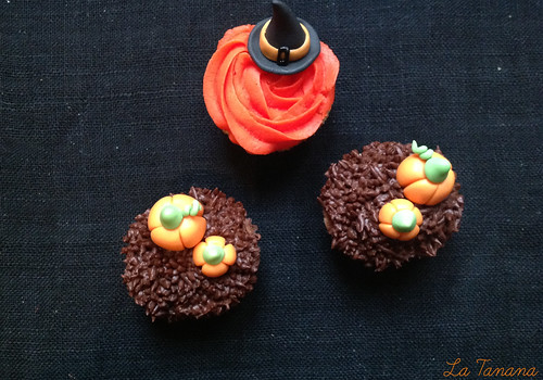 Minicupcakes halloween (Buttercream)