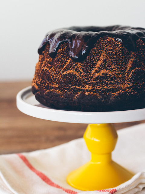 Chocolate stout cake with whiskey ganache, for dad | Oh, Ladycakes