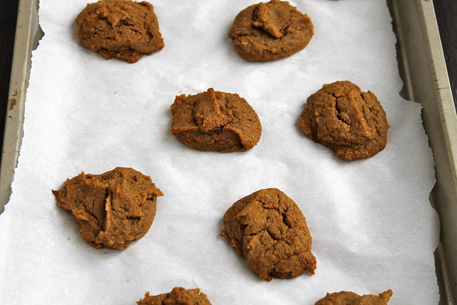 Pumpkin Spice Cookies (vegan)1