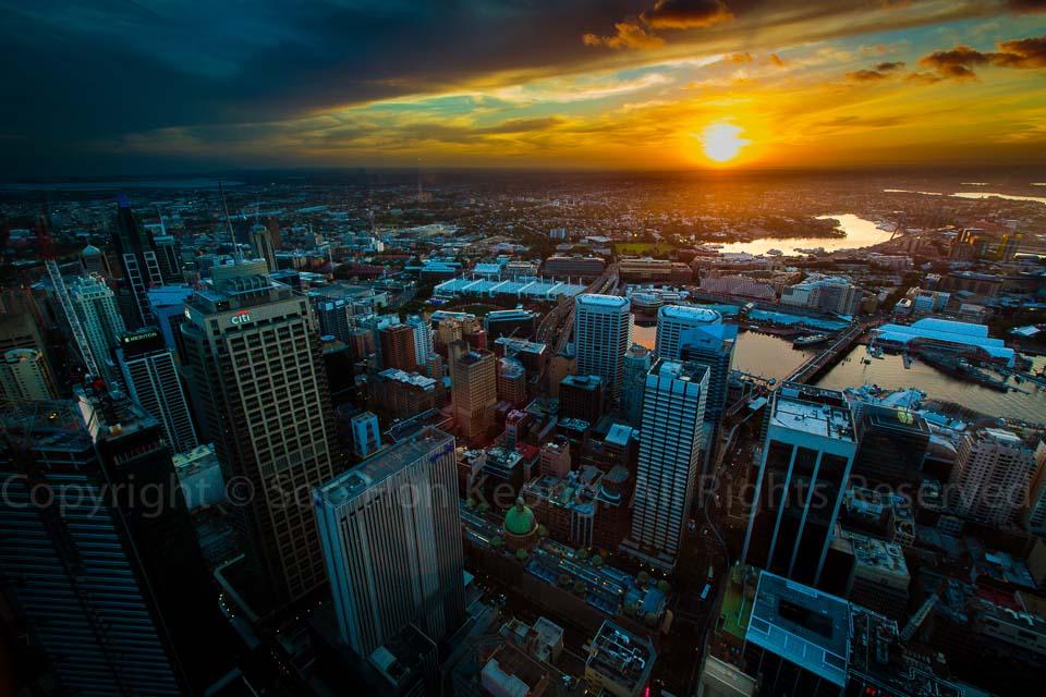 Sunset @ Sydney, Australia