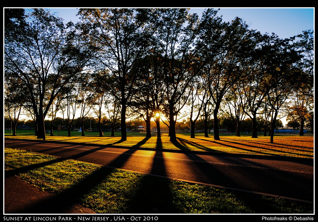 Sunset @ Lincoln Park - New Jersey , USA - Oct 2012 by DxP22