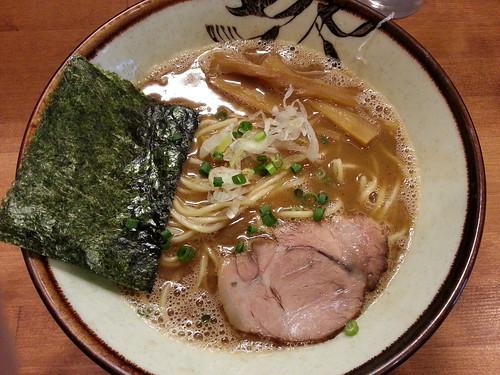 ra121031麺屋 清水 小らーめん 魚介