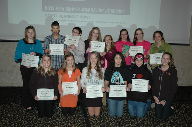 2012 MIPA Middle School Conference Contest Winners