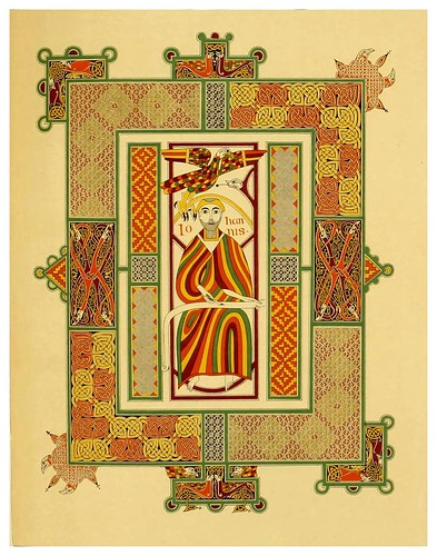 009-Fac-similes of the miniatures & ornaments of Anglo-Saxon & Irish manuscripts-1868