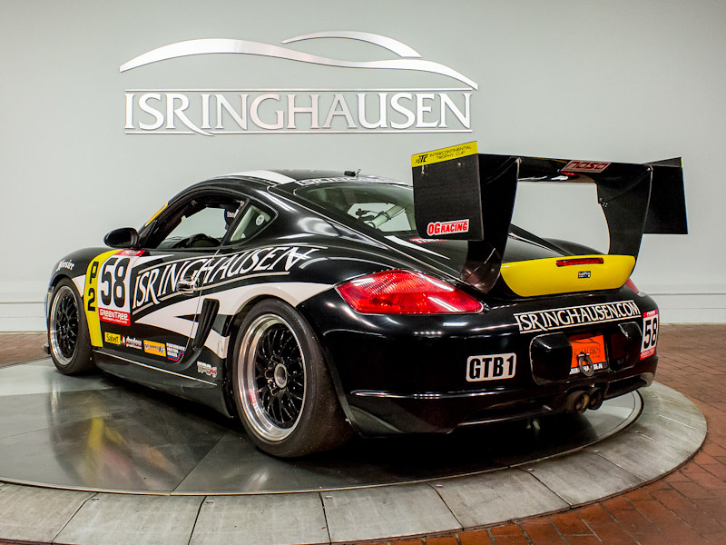 2007 And 2009 Porsche Cayman S Itc Spec Racecars