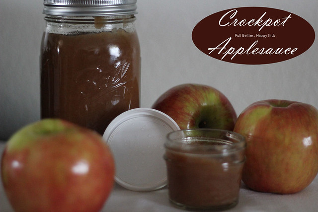 Homemade Crockpot Applesauce