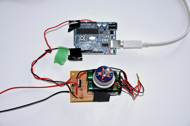 Arduino and custom Solenoid Circuit