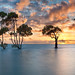 Sunrise over Deception Bay by Bruce_Hood