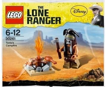 LEGO The Lone Ranger Tonto's Campfire Polybag (30261)