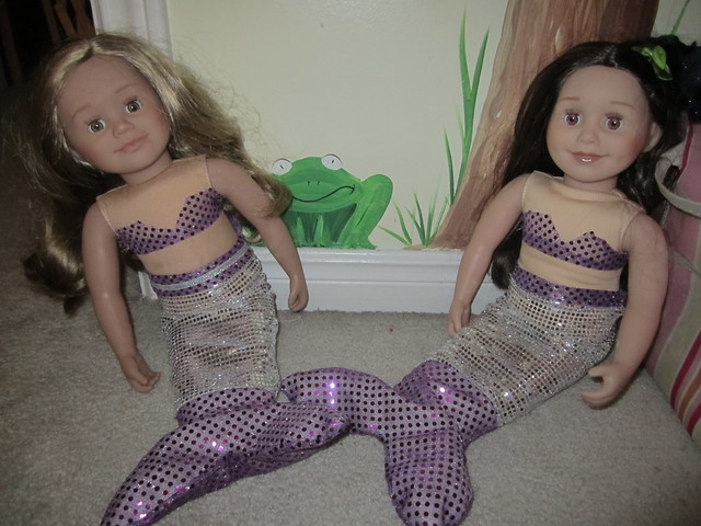 Mermaid Tails for Maplelea Dolls