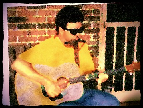 back porch delta blues with harmonica and guitar, ca. 2000
