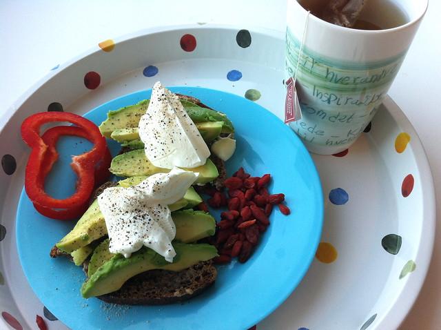 Frokost hjemme og 7 gode grunner til å spise avokado!