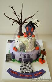 Cadılar Bayramı Pastası