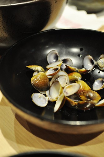 miso soup clams