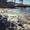 Ice on the Hudson.