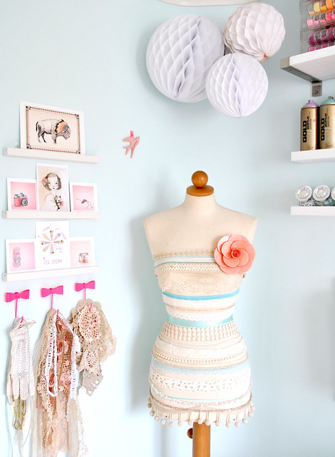 Corner of my craft room