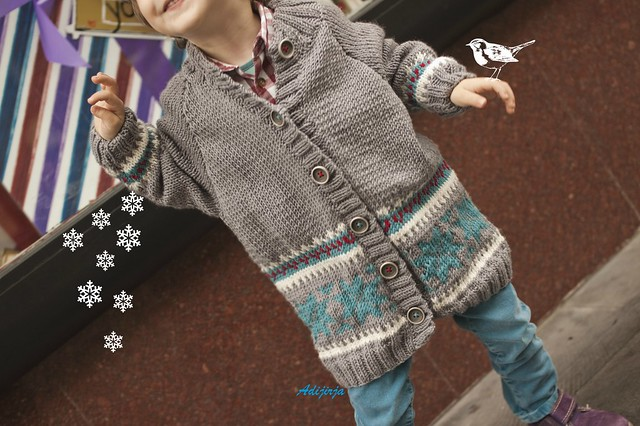 Fourth Christmas Cardigan