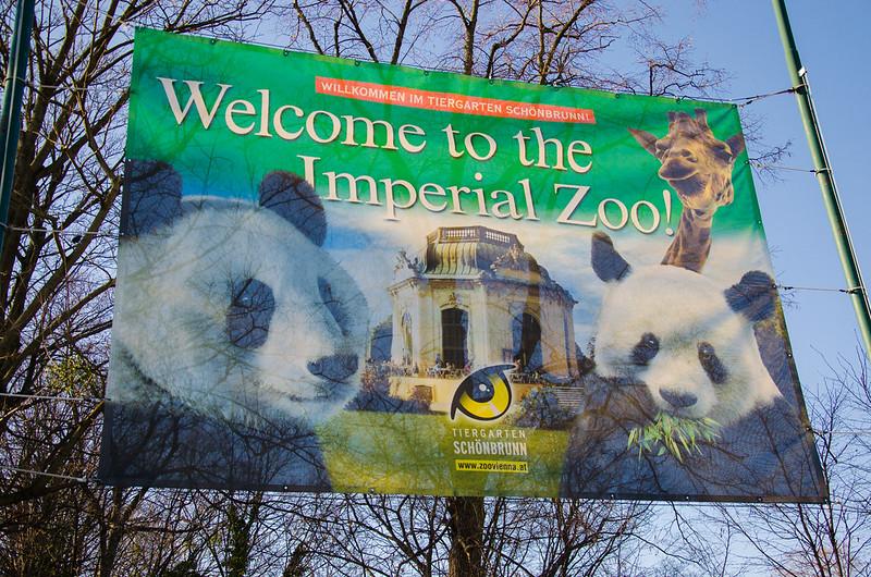 Zoo in Schönbrunn Palace