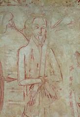 St Edmund martyred
